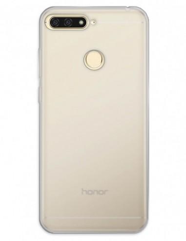 Funda Gel Silicona Liso Mate para Huawei Y6 (2018)