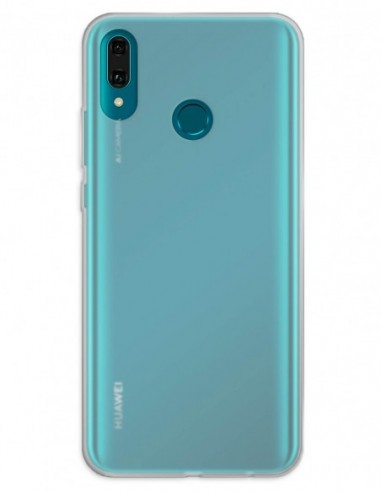 Funda Gel Silicona Liso Mate para Huawei Y9 (2019)