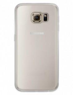 Funda Gel Silicona Liso Mate para Samsung Galaxy S6