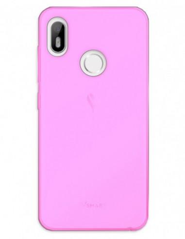 Funda Gel Silicona Liso Rosa para Vsmart Joy 1