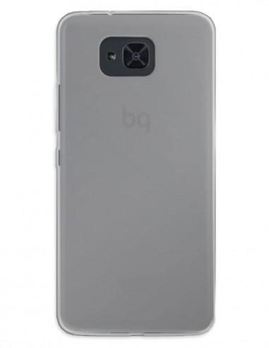 Funda Gel Silicona Liso Mate para Bq Aquaris U2 Lite