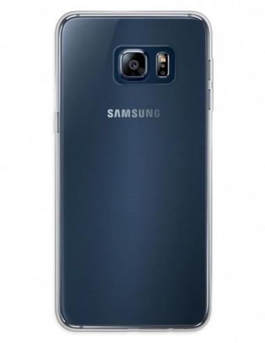 Funda Gel Silicona Liso Transparente para Samsung Galaxy Note 5 Edge