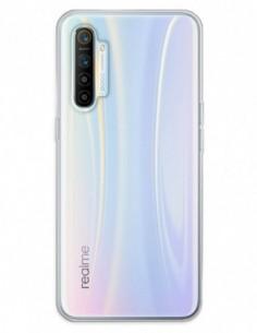 Funda Gel Silicona Liso Transparente para Realme X2