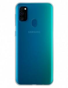 Funda Gel Silicona Liso Transparente para Samsung Galaxy M30s