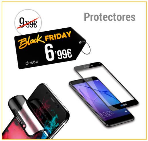 Protectores de pantalla para móviles Black Friday