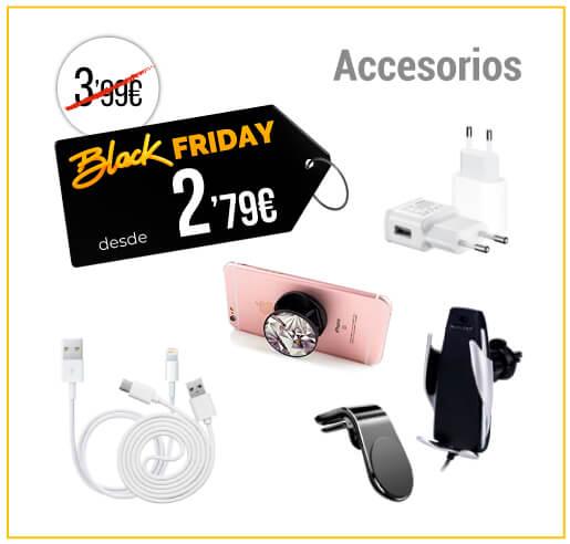 Accesorios móviles Black Friday