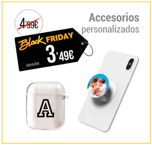 Accesorios para móvilies personalizados Black Friday