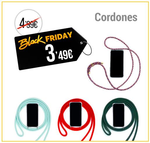 Cuerdas para fundas de móviles Black Friday