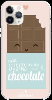 Me gustas más que el chocolate