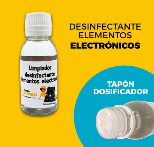 Desinfectante elementos electrónicos