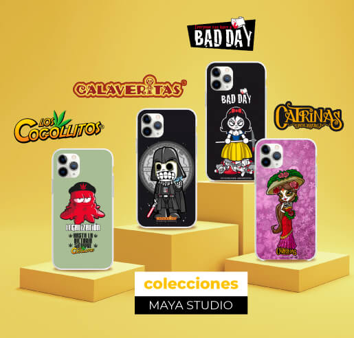 Colección Maya Studio Cogollitos, Calaveritas, Bad Day, Catrinas