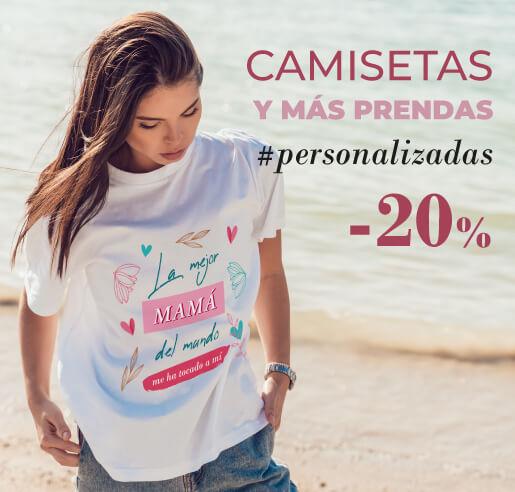 Camisetas y ropa personalizada Día de la Madre