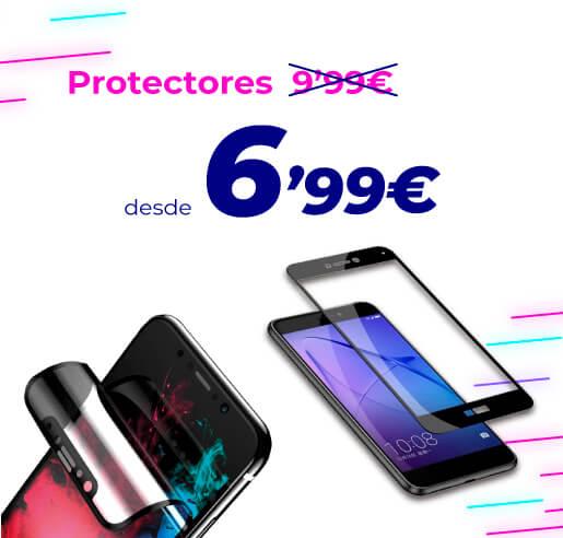 Protectores de pantalla para móviles Cyber Monday