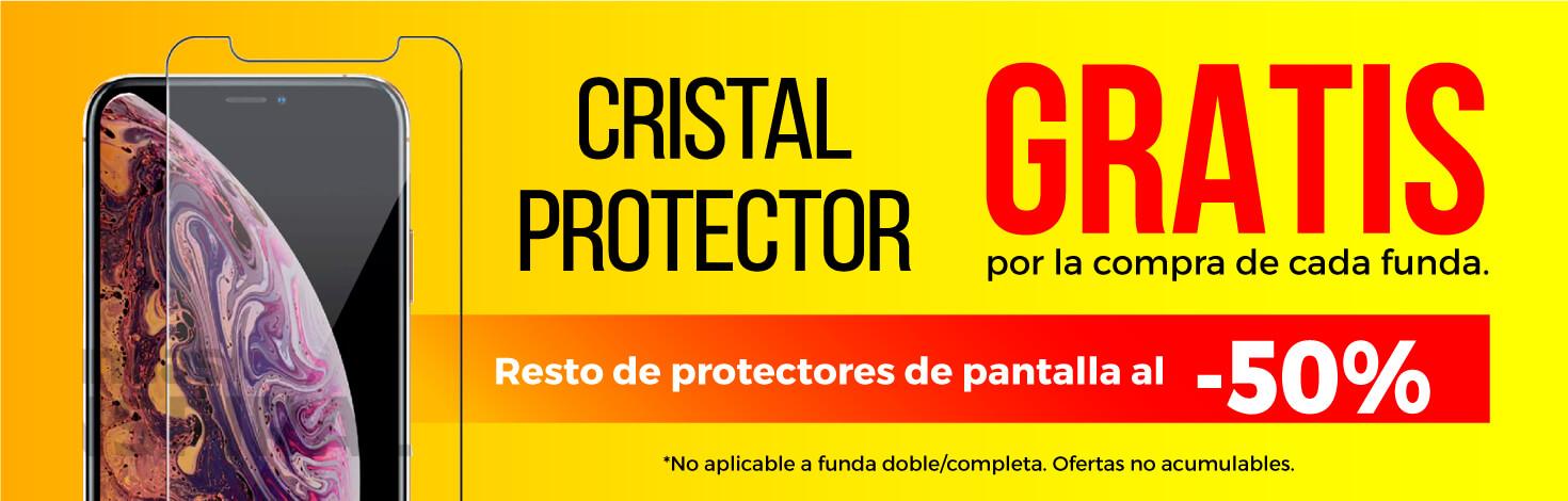 Protector de pantalla 9H Gratis con la compra de una funda