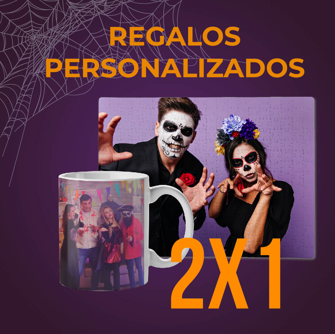 Regalos personalizados Halloween